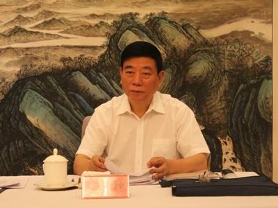 中国法学会党组成员、副会长兼秘书长鲍绍坤出席调研座谈会