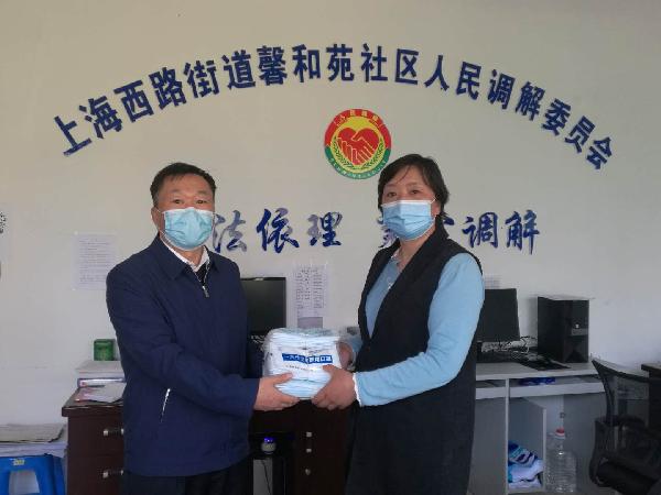 自治区法学会党组成员、秘书长李跃先到社区调研疫情防控和基层社会治理