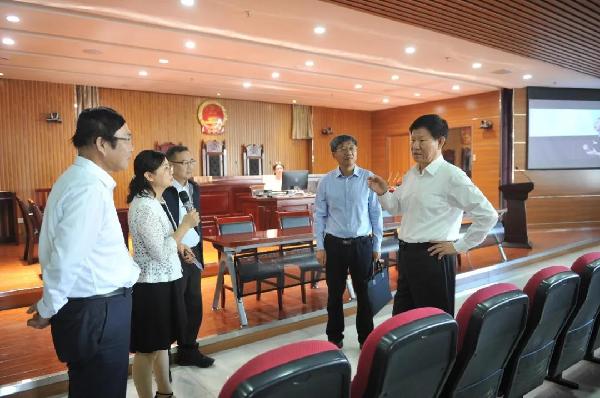中国法学会副会长王其江一行调研宁夏法治人才培养工作